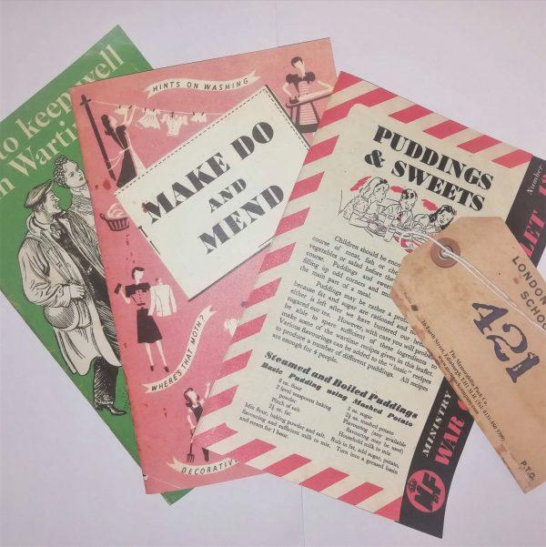Second World War Replica Documents Bundle