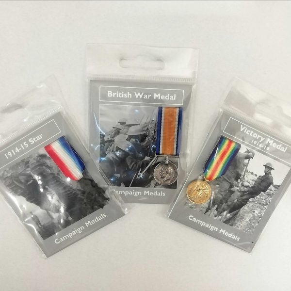 Pip, Squeak and Wilfred Miniature Medals