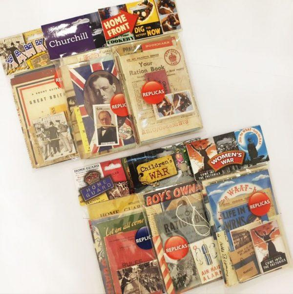 Mix and Match: Three Second World War Replica Packs