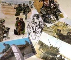 Dan Peterson War Artist