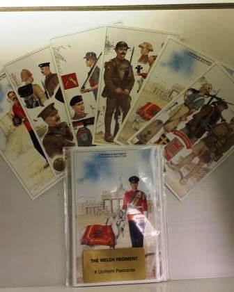 The Welsh Regiment Postcards