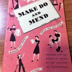 Make Do and Mend Booklet