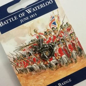 Waterloo Pin Badge
