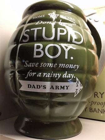 Grenade Money Box