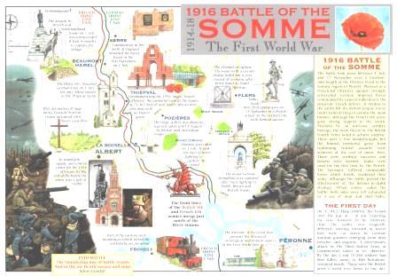 Somme Postcard
