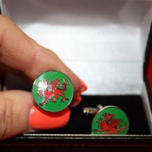 Red Dragon Cufflinks