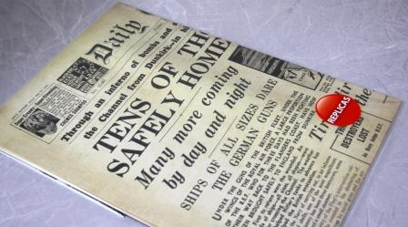 Dunkirk Replica Newspaper