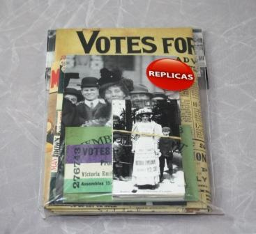 Suffragette Replica Pack