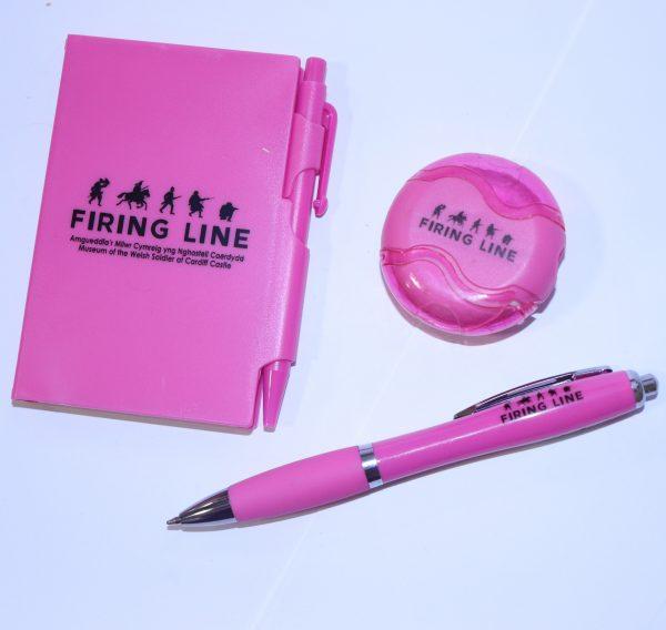 Pink Stationery